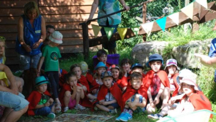 Beim Sommerfest auf der Wiese…