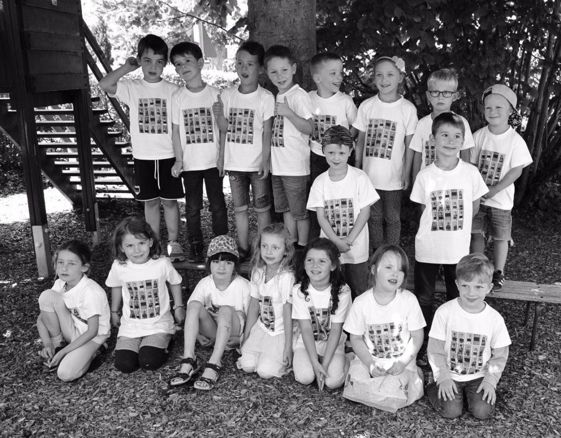 Time to say goodbye – 18 Maxis verlassen den Kindergarten Pusteblume